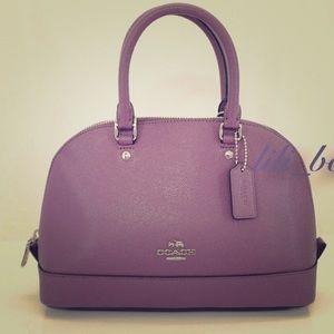 NWOT Authentic Coach Mini Sierra Satchel handbag